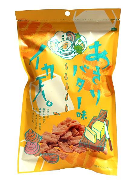 まるか食品 イカ天あさりバター味75g【イージャパンモール】