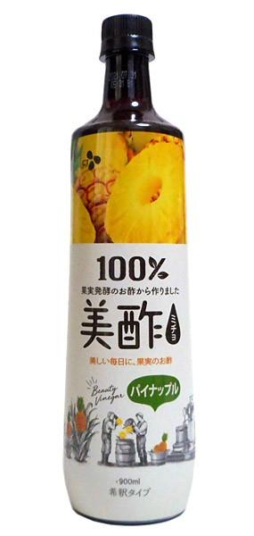 CJ 美酢(ミチョ)パイナップル 900ml【イージャパンモール】