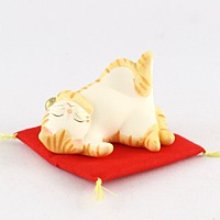 猫の昼休み トラ【返品・交換・キャンセル不可】【逸品館】