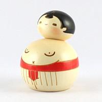 お相撲さん 赤【返品・交換・キャンセル不可】【逸品館】