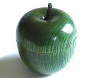 りんごっこカップ 欅 (緑)【返品・交換・キャンセル不可】【逸品館】