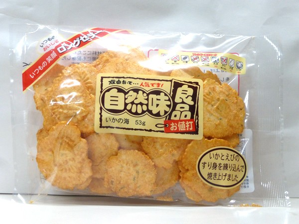 ★まとめ買い★ カワサ 自然味良品 いかの海 53g ×12個【イージャパンモール】