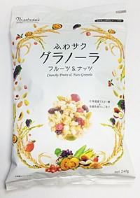 ★まとめ買い★ 日本食品製造 ふわサクフルーツ&ナッツグラノーラ ×4個【イージャパンモール】