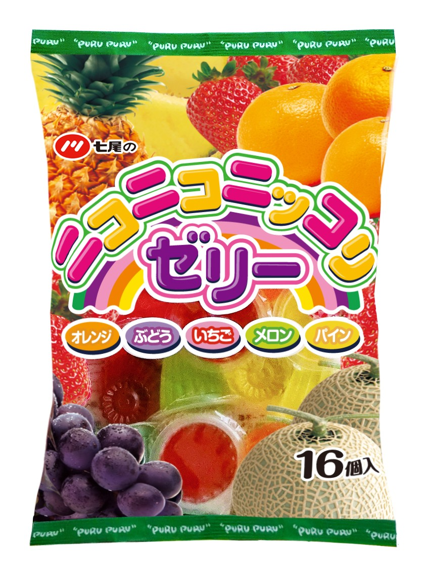 ★まとめ買い★ 七尾製菓 ニコニコニッコリゼリー 16個 ×20個【イージャパンモール】