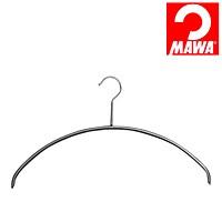 MAWA(マワ)社 10本セット マワハンガー 滑らないハンガー レディースライン ブラック【代引不可】【日用品館】