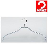 MAWA(マワ)社 3本セット マワハンガー 滑らないハンガー レディースハンガー シルバー【代引不可】【日用品館】