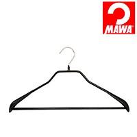 MAWA(マワ)社 マワハンガー 滑らないハンガー ニューボディーフォーム スーツ用 ブラック【代引不可】【日用品館】