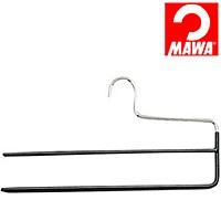 MAWA(マワ)社 マワハンガー 滑らないハンガー スラックスハンガー ズボンハンガー ブラック【代引不可】【日用品館】