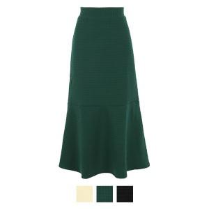 キルティングマーメイドスカート