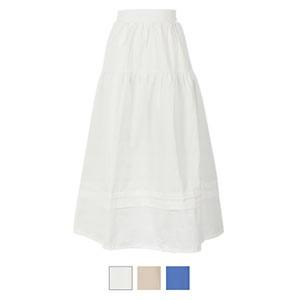 タックディテールボリュームスカート