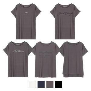 選べる柄プリントゆるTシャツ