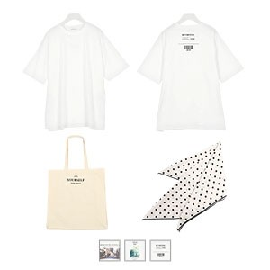 [ 3点セット ]ビッグT+キャンバスBag+スカーフ