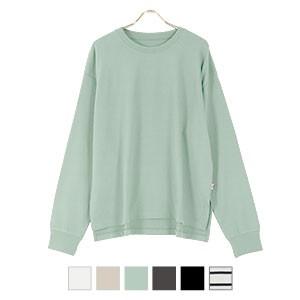 ユニセックスUSAコットンロングTシャツ