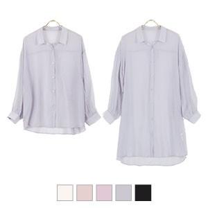 選べる2丈の シアーシャツ