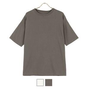 バックロゴプリントTシャツ