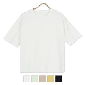 スリットスリーブTシャツ