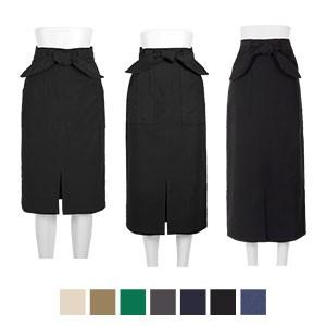 ミディ/ロング動けるストレッチタイトスカート