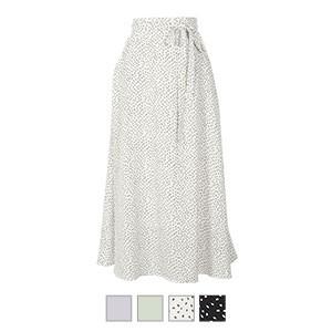 [ 星玲奈さんコラボ ] ウエストリボンロングスカート