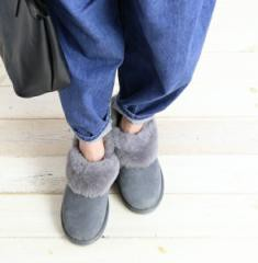 エミュ ショートブーツ Baia EMU W11695 国内正規品 2017秋冬新作 送料無料