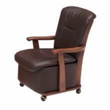 こたつ座椅子 肘付 キャスター付 幅57cm