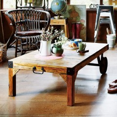 センターテーブル トロリーテーブル