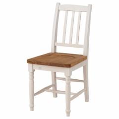 ダイニングチェア 椅子 ミディ シャビー調 天然木製 オイル仕上