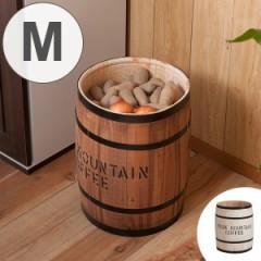 コーヒー樽 木樽 ヒノキ製 Mサイズ 高さ43cm