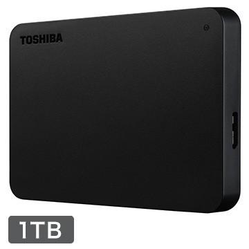 TOSHIBA 外付け ポータブルハードディスク 1TB ブラック(ひかりTVショッピング限定モデル) HDAD10AK3-FP
