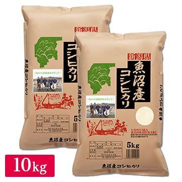 【精米】令和2年産 五ツ星お米マイスター推奨 魚沼産コシヒカリ 10kg(5kg×2)