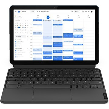 Lenovo IdeaPad Duet Chromebook 10.1 4GB eMMC128GB アイスブルー+アイアングレー