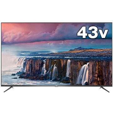 TCL P8シリーズ 43型液晶テレビ 4K対応 Android TV搭載