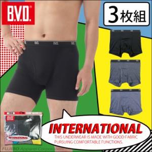 BVD BODY GEAR ローライズボクサーパンツ ストレッチ素材 メンズ BX720