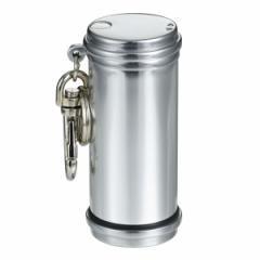 携帯灰皿 おしゃれ かわいい アッシュシリンダーアルミ製(シルバー)