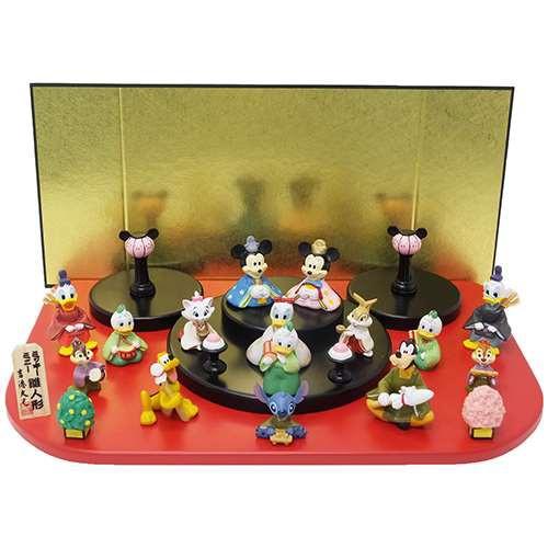 ディズニー雛人形15人