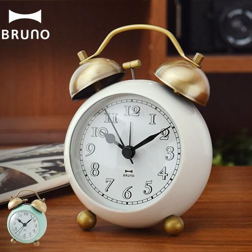 BRUNO ゴールドツインベルクロック BCA001