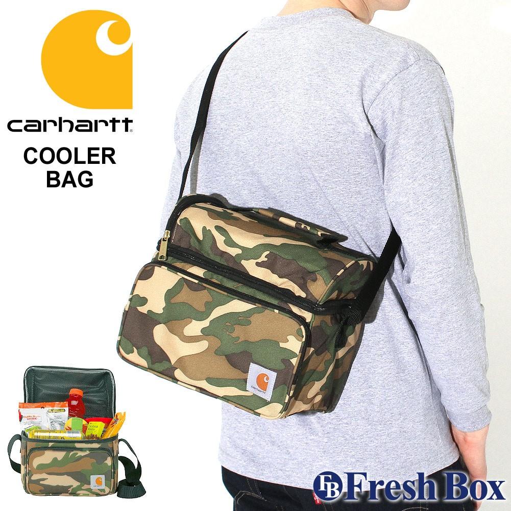 カーハート バッグ クーラーバッグ 撥水 358100B USAモデル ブランド Carhartt 保冷バッグ ショルダー 斜めがけ ミリタリー
