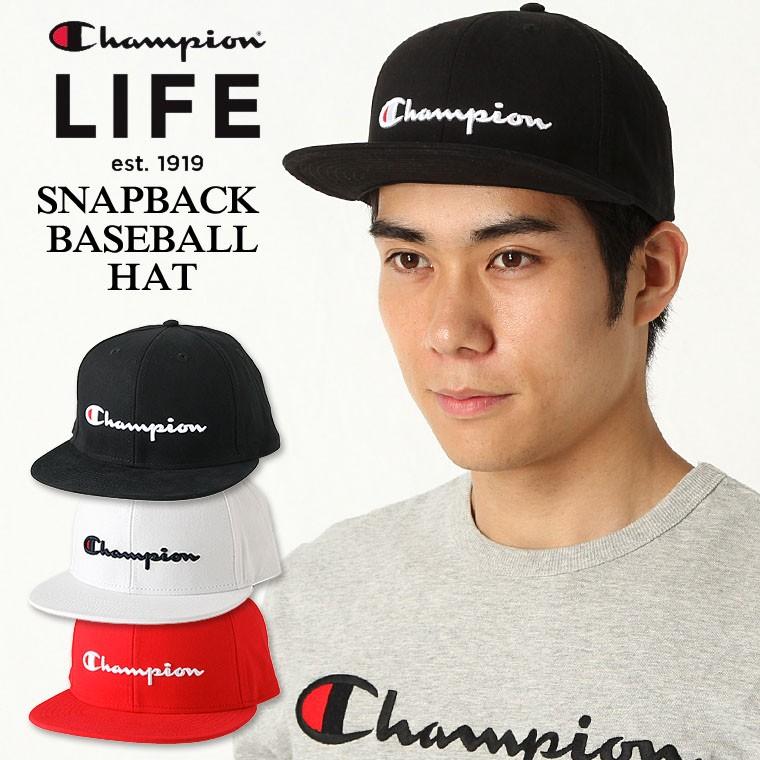 チャンピオン ライフ キャップ メンズ レディース 帽子 USAモデル ブランド ロゴ アメカジ スナップバック
