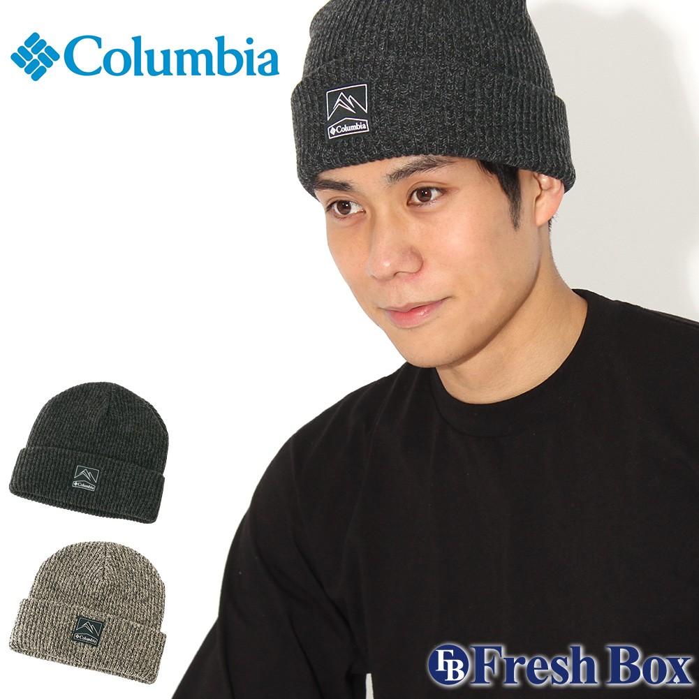 Columbia コロンビア ニット帽 メンズ ブランド ニットキャップ 折り返し ビーニー 帽子 メンズ ニット キャップ (columbia-1911321)