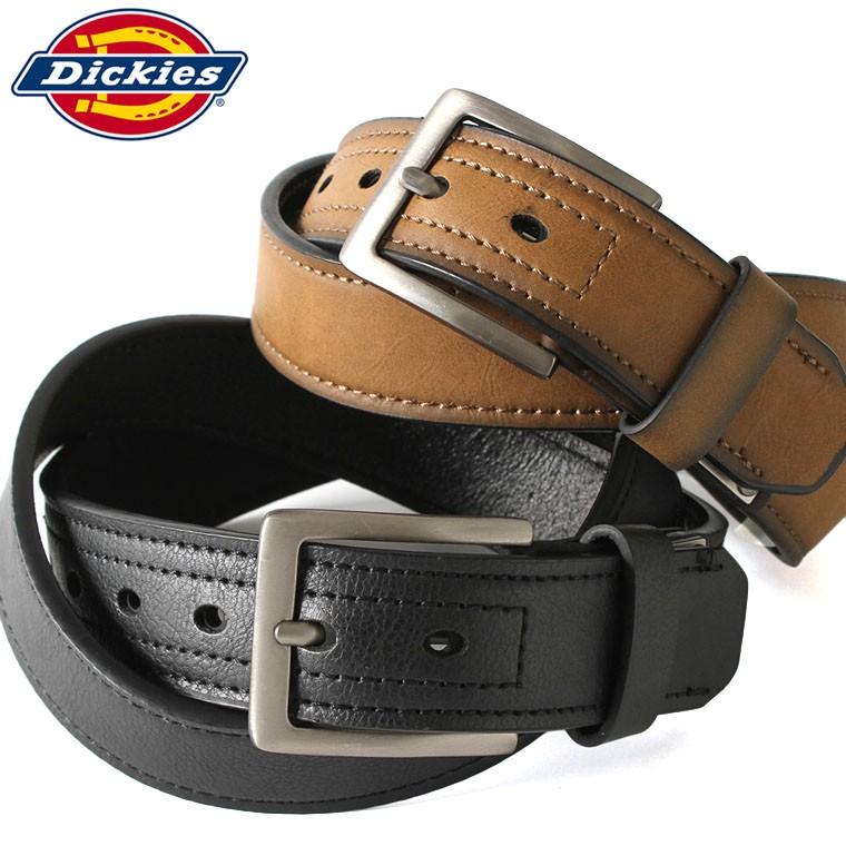 ディッキーズ (Dickies) ベルト メンズ 本革 ベルト メンズ ブランド カジュアル ベルト メンズ 革 レザーベルト バックルベルト 大きいサイズ