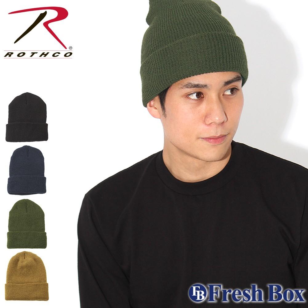 ロスコ ROTHCO ニットキャップ メンズ ニット帽 ビーニー 帽子 キャップ アメカジ ストリート 通販