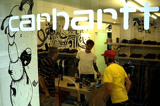 カーハートの店舗