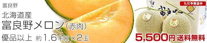 富良野メロン 2玉
