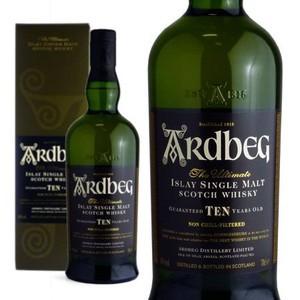 【正規品・箱入】アードベッグ[10]年・正規代理店輸入品・アイラ・シングル・モルト・スコッチ・ウイスキー・700ml・46%