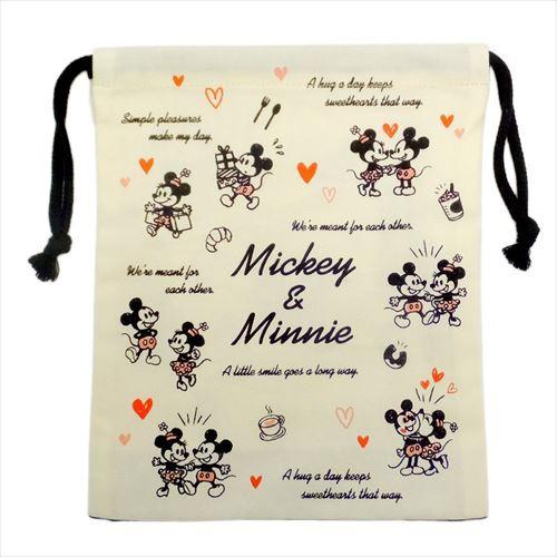 ミッキー&ミニー[巾着袋]