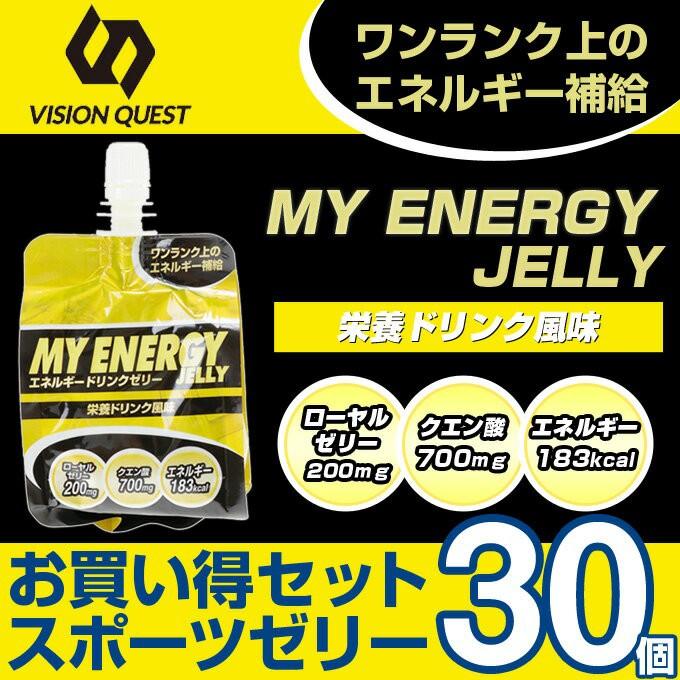 ビジョンクエスト(VQ)EGゼリー栄養ドリンク味 30個入り EGJ-SP