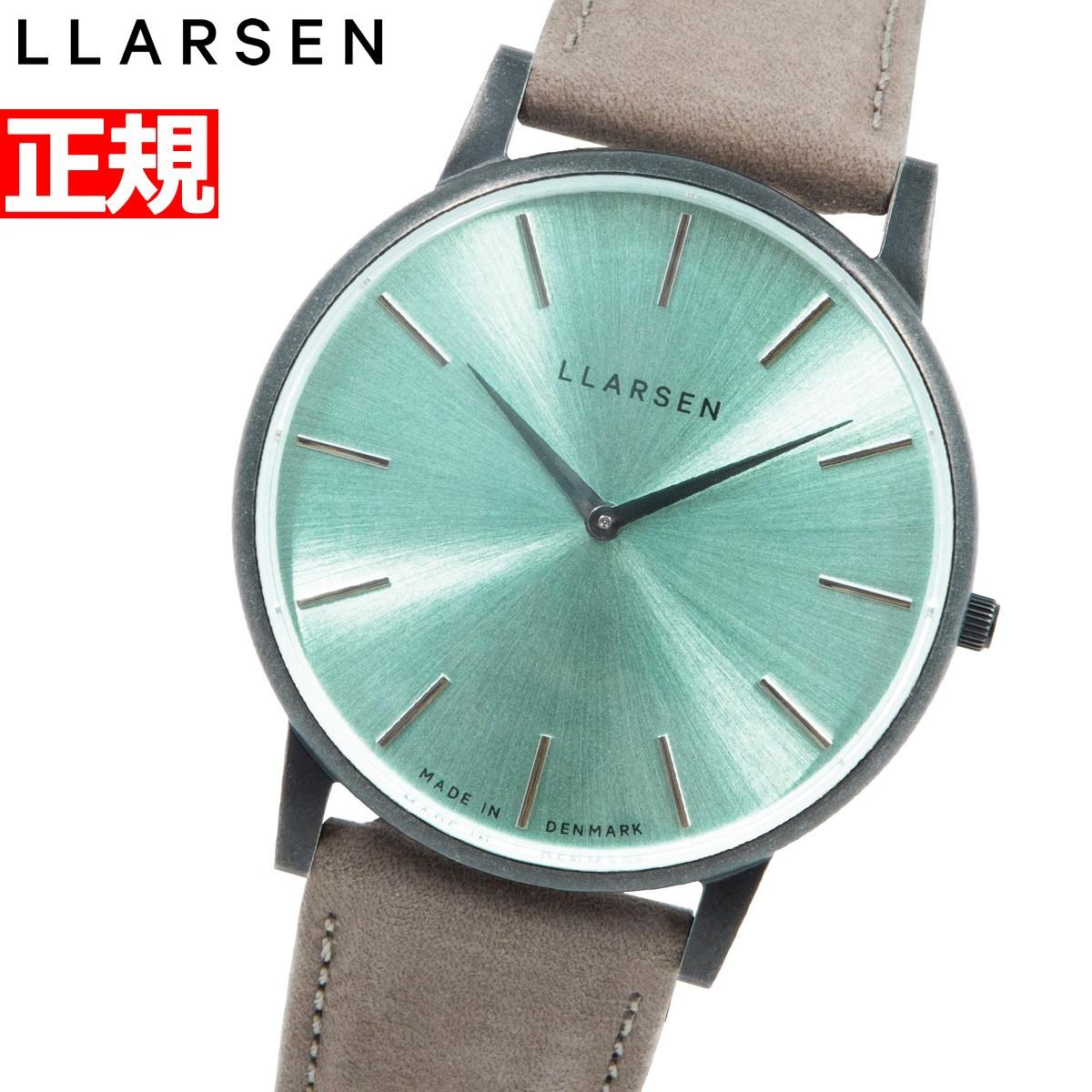 エルラーセン LLARSEN 腕時計 メンズ エコレザー ECCO LEATHER 限定モデル 替えベルト付 オリバー Oliver LL147OTECSTMS