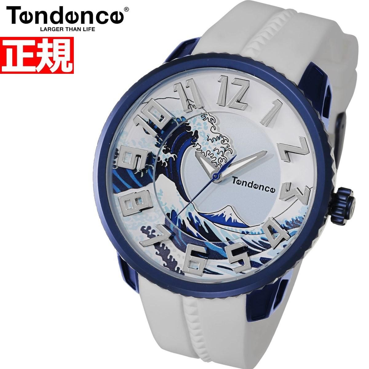 テンデンス Tendence 限定モデル 腕時計 メンズ レディース ジャパンアイコン ホクサイ JAPAN ICON HOKUSAI 北斎 TY143102