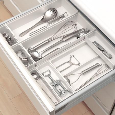 キッチン収納ケース カトラリーポケット S
