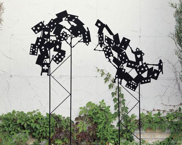 ガーデンオーナメント トレリストランプ兵士