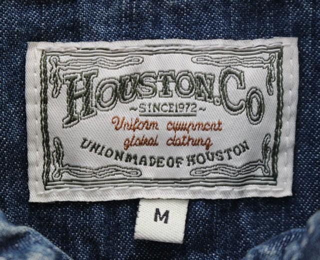 ヒューストン,デニムシャツ,ワークスシャツ